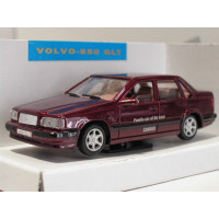 Volvo 850 GLT 1992 donkerrood met. Best of.... AHC 1:43