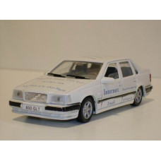 Volvo 850 GLT 1992 wit + reclame Ar-Gee AHC 1:43
