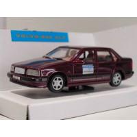 Volvo 850 GLT 1992 donkerrood met. TESTWAGEN AHC 1:43