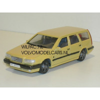 Volvo 850 T5-R Estate vanille geel o.b.v. AHC 1:43