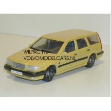 Volvo 850 T5-R Estate vanille geel o.b.v. AHC 1:43