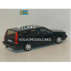 Volvo 850 Estate 1995 donkerblauw RHD RECHTS STUUR AHC 1:43