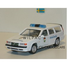 Volvo 850 Estate Rendörség Hongaarse Politie Cararama 1:43