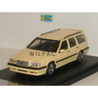 Volvo 850 T5-R Estate cream yellow HPI 1:43