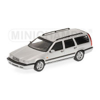 Volvo 850 Estate 1996 zilvergrijs metallic Minichamps 1:43