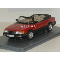 SAAB 900 Cabrio rood 1987 NEO 1:43
