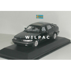 SAAB 900 SE 1995 zwart Minichamps 1:43