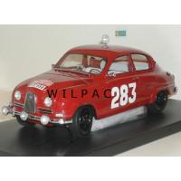 SAAB 96 1:18 1963 #283 Monte Carlo Rally NEO