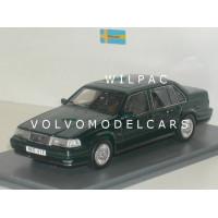Volvo 960 sedan 1995 groen met. NEO 1:43