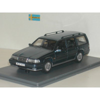 Volvo 960 Estate donkerblauw met. Wilpac NEO 1:43