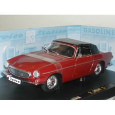 Volvo P1800 1:18 Cabrio rood Top Up Revell