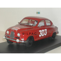 SAAB 96 1:18 1962 #303 Monte Carlo Rally NEO