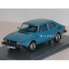 SAAB 99 Combi Coupe 1975 blauw NEO 1:43