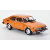 SAAB 99 Combi Coupe 1975 oranje NEO 1:43