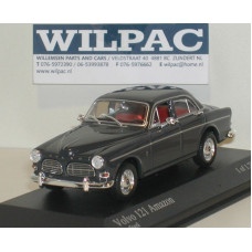 Volvo Amazon 1966 4-dr donkergrijs Minichamps 1:43