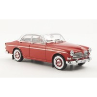 Volvo Amazon 1956 4 deurs rood wit Premium X 1:43