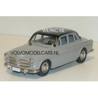 Volvo Amazon 1957 4-dr. grijs/zwart Rob Eddie 1:43 RE09z