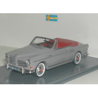 Volvo Amazon 1963 Coune Cabrio grijs NEO 1:43