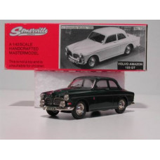 Volvo Amazon 1967 123GT donkergroen Somerville #136 1:43