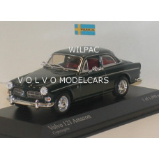 Volvo Amazon 1966 donkergroen Minichamps 1:43