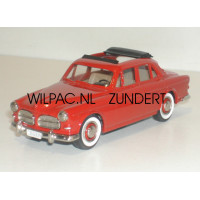 Volvo Amazon 1957 4-dr. Webasto dak rood Rob Eddie RE09 1:43