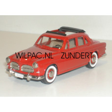 Volvo Amazon 1957 4 deurs Webasto dak rood Rob Eddie RE09 1:43