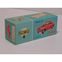 Doos Volvo 122 S Amazon Spot-on nr. 216 1:43 REPRO en leeg