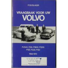 Boek: Volvo Amazon PV544 P1800 Olyslagers Vraagbaak Nederlands copy