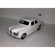 Volvo Amazon 1966 2 deurs wit Bumper 1:22,5