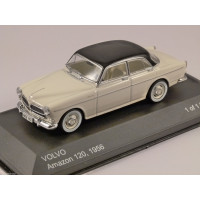 Volvo Amazon 1956 zwart wit WhiteBox 1:43