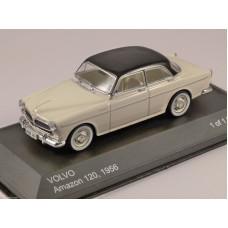 Volvo Amazon 1956 zwart wit WhiteBox 1:43
