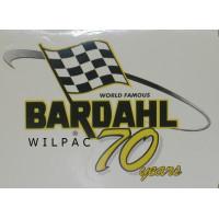 Bardahl sticker world famous Bardahl 70 years