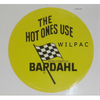 Bardahl sticker : the hot ones use..