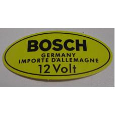 Sticker bobine Volvo Bosch 12 VOLT