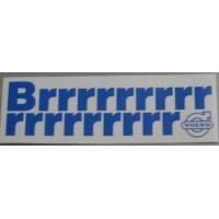 Sticker airco / Brrrrrrr Volvo airconditioning