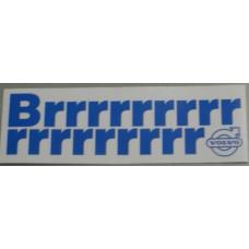 Sticker airco / Brrrrrrr Volvo