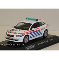 Volvo C30 2006 KLPD / Nederlandse politie obv Welly 1:43