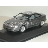 Volvo C70 coupé 1998 grijs met. Minichamps 1:43