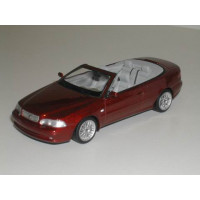 Volvo C70 cabrio 1997 rood metallic 1:43 Minichamps