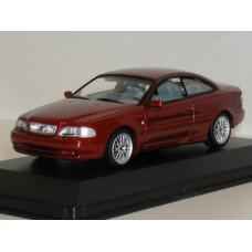 Volvo C70 coupé 1998 rood met.  Minichamps 1:43