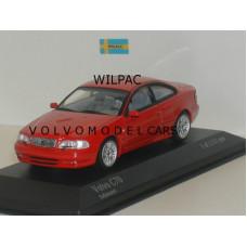 Volvo C70 coupé 1998 rood Minichamps 1:43