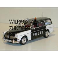 Volvo Amazon Combi POLIS Zweedse politie Minichamps 1:43