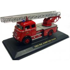 DAF A1600 brandweer ladderwagen Yat Ming 1:43