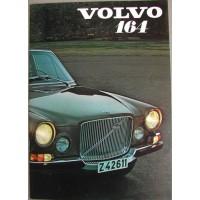 Folder Volvo 164 1971 Frans
