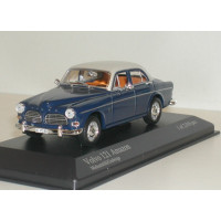 Volvo Amazon 1966 two-tone blauw grijs Minichamps 1:43