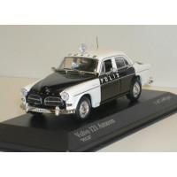 Volvo Amazon 1966 4 deurs Polis Zweedse politie Minichamps 1:43