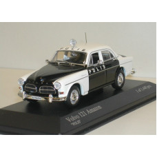 Volvo Amazon 1966 4deurs Polis Zweedse politie Minichamps 1:43