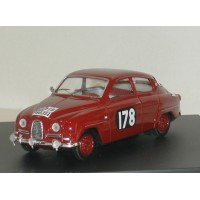 SAAB 96 1960 RAC Rally #178 Trofeu 1:43