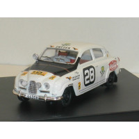 SAAB 96 East African Safari Rally 1964 #28 SMCC Trofeu 1:43