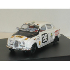 SAAB 96 1964 East African Safari Rally SMCC 1:43